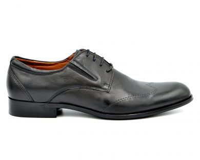 Туфли классические на шнурках 2207-5 - фото