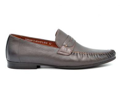 Мокасины на каблуке 9-081 - фото