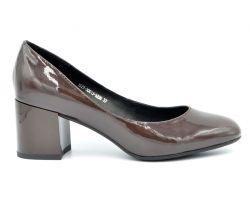 Туфли лодочки на среднем каблуке 1577 - фото