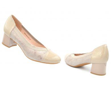 Туфлі човники на середніх підборах 125-72 - фото
