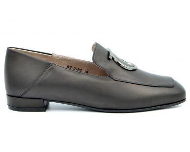 Туфли лоферы 667-2 - фото