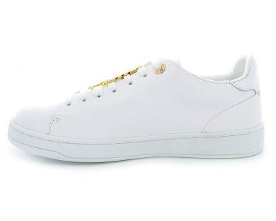 Туфлі на низькому ходу на шнурках 005-8 - фото