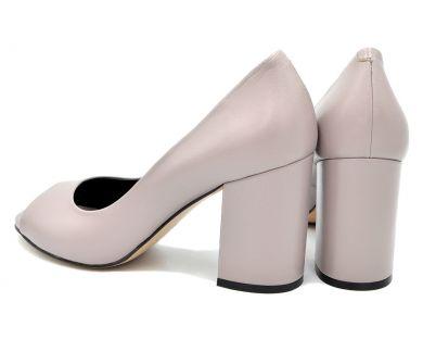 Туфлі з відкритим носком 912-20 - фото