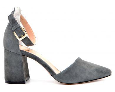 Туфли на каблуке 18076-10 - фото