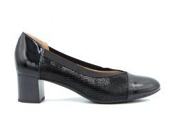 Туфли лодочки на среднем каблуке 125-72 - фото