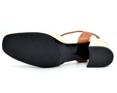 Босоножки на каблуке 145-28 - фото 32