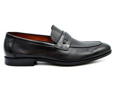 Туфли лоферы 628-16-10 - фото