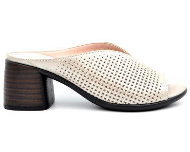 Шлепанцы на каблуке 206-2 - фото