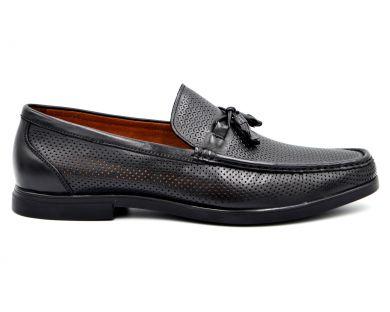 Мокасины на каблуке 8027-6 - фото
