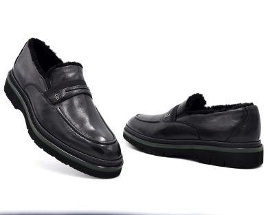 Туфлі з хутром 15-2-07 - фото