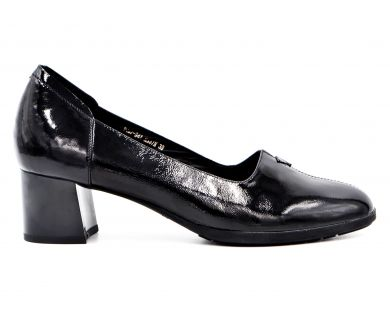 Туфли лодочки на среднем каблуке 487-94 - фото