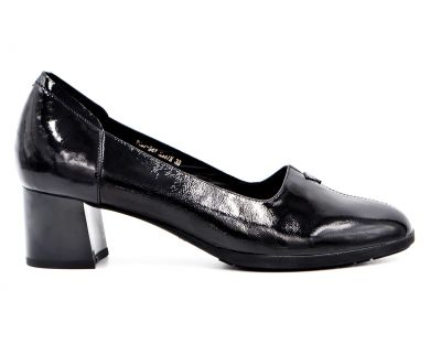 Туфлі човники на середніх підборах 487-94 - фото