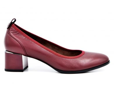 Туфли лодочки на среднем каблуке 550-01-542 - фото