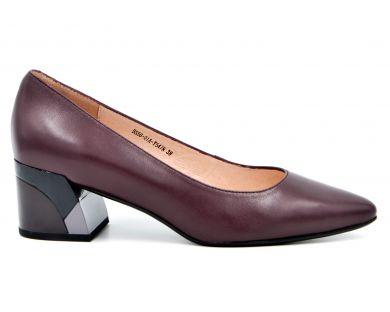 Туфли на каблуке 556-01 - фото