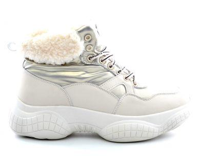 Кросівки з хутром 1921-2 - фото