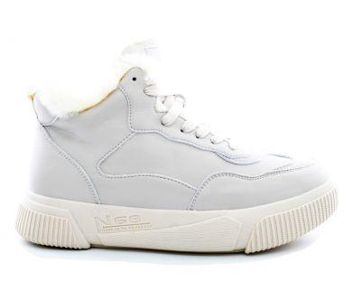 Кросівки з хутром 8825-1 - фото