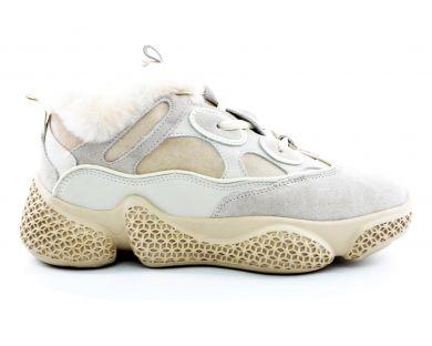 Кроссовки на меху 8356-1 - фото