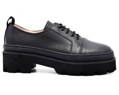 Туфли на толстой подошве 3121-3411 - фото