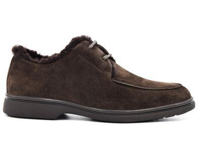 Туфлі з хутром 0581-601 - фото