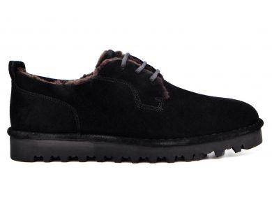 Туфли на меху 031-2-10 - фото