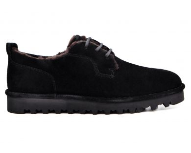 Туфлі з хутром 031-2-10 - фото