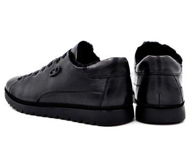 Туфлі з хутром 9823-0305 - фото