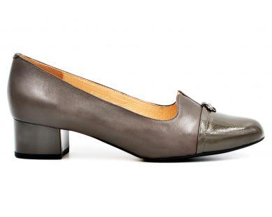 Туфлі човники на середніх підборах 4-365-0955 - фото
