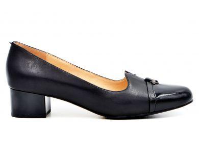 Туфли лодочки на среднем каблуке 70-1 - фото