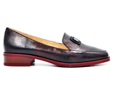 Туфли на низком ходу (комфорт) 82-1-12 - фото