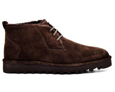 Повсякденні черевики на хутрі 031-1-10 - фото