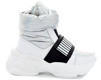Ботинки на толстой подошве 2071-10 - фото