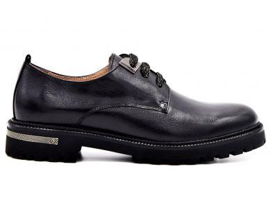 Туфли на низком ходу на шнурках 9221-7 - фото