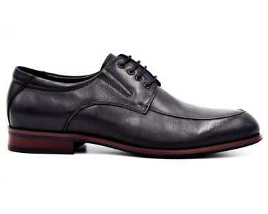 Туфлі на шнурках класичні 61202-194 - фото