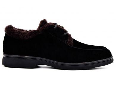 Туфли на меху 0581-601 - фото
