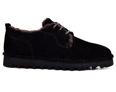 Туфли на меху 831-1 - фото