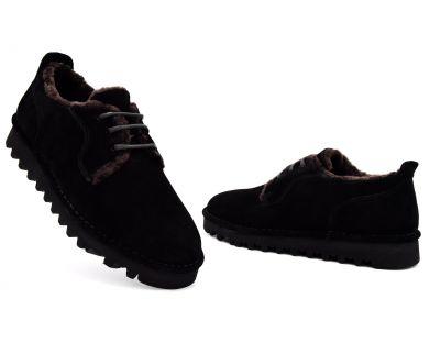 Туфлі з хутром 831-1 - фото