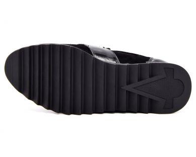 Туфли на толстой подошве 18-269 - фото