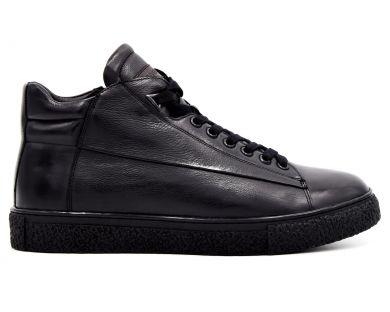 Повсякденні черевики на хутрі 9-019-306 - фото