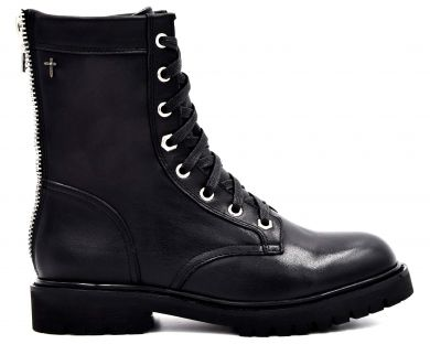 Ботинки высокие на шнуровке 1806-1 - фото