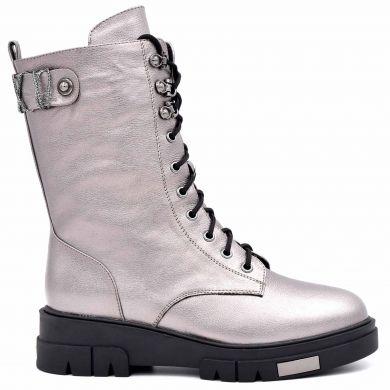Ботинки высокие на шнуровке 432-194 - фото