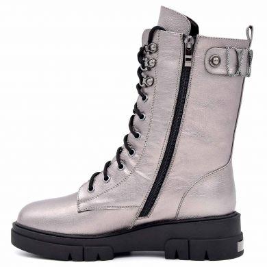 Черевики високі на шнурівці 432-194 - фото