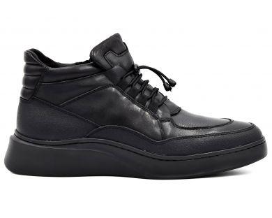Ботинки спорт на меху 9939-0201 - фото