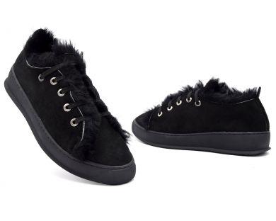 Туфлі на хутрі 056-01 - фото
