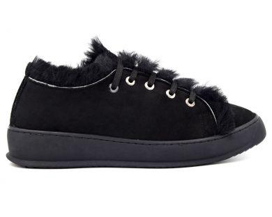 Туфли на меху 056-01 - фото