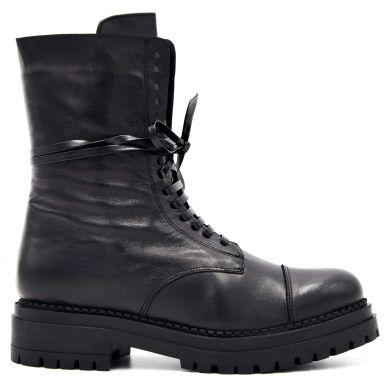 Черевики високі на шнурівці 1024-68 - фото