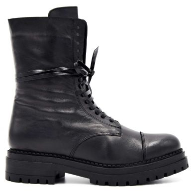 Ботинки высокие на шнуровке 1024-68 - фото