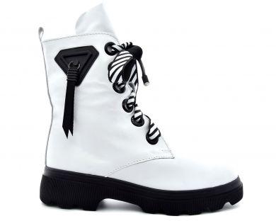 Ботинки высокие на шнуровке 425-425 - фото