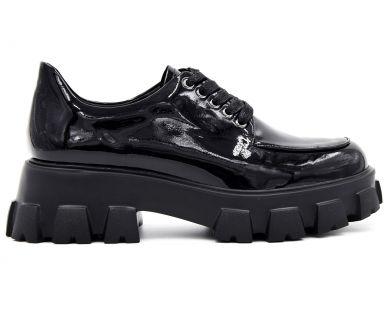 Туфли на толстой подошве 029-01-1 - фото