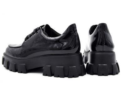 Туфлі на товстій підошві 029-01-1 - фото