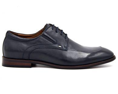 Туфлі на шнурках класичні 7844-12 - фото